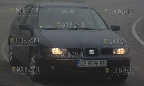 6 сентября 2016 года, видимость на некоторых дорогах Болгарии в утренние часы была не более 30-50 метров