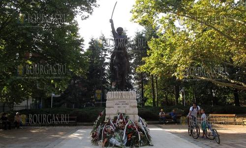 8 сентября 2016 года, Добрич, открыт памятник генералу Ивану Колеву, командующего Освободительной армией Добруджи во время Первой мировой войны