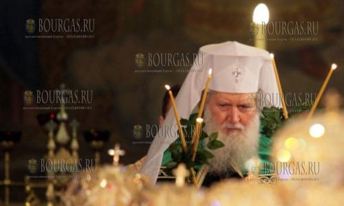8 сентября 2016 года, София, храм Рождество Богородично, патриарх Болгарской православной церкви, Неофит, отслужил праздничную святую литургию