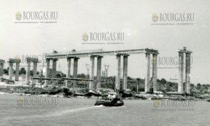 Аспарухов мост - Варна, 1973 год, начало строительства