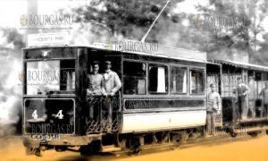 первый трамвай в Софии