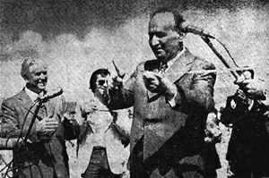 Тодор Живков открывает Аспарухов мост