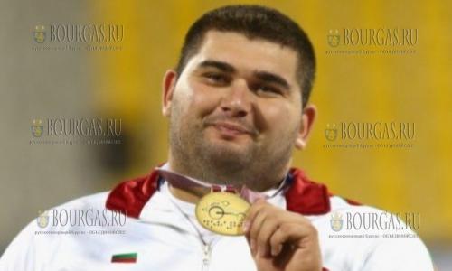 Болгарский легкоатлет Рушди Рушди, чемпион Паралимпийских играх в Рио-де-Жанейро