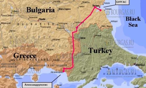 Бургас - Александруполис свяжет железная дорога