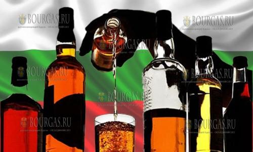 Экспорт крепких алкогольных напитков из Болгарии