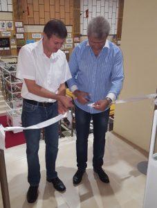 мэр Пештеры Николай Зайчев открывает музей ретро-автомобилей