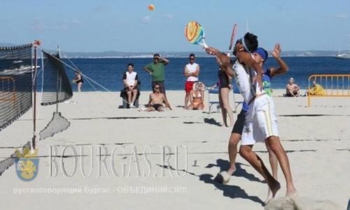 международный турнир по пляжному теннису Friends Open в Бургасе