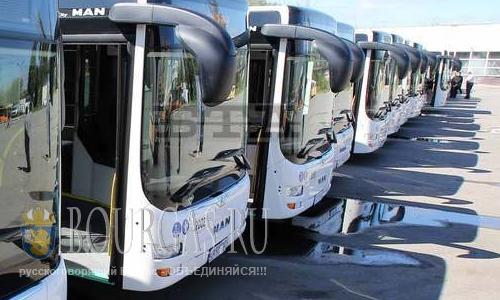Новые 70 автобусов прибыли в Софии
