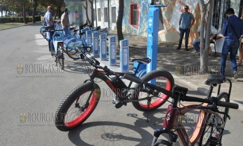 Новый пункт проката велосипедов в Бургасе заработал сегодня