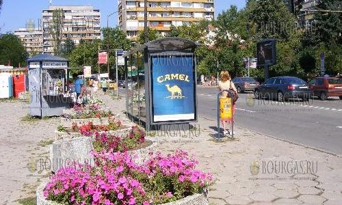 озеленение улиц Софии