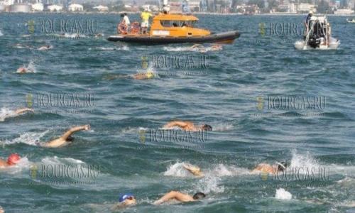 Плавательный марафон в Бургасе