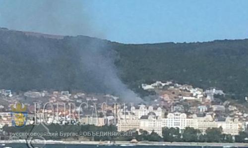 Пожар в Свети Влас