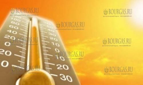 температурный рекорд в Болгарии, жара, пекло