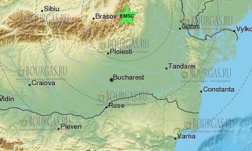 Сильное землетрясение в Румынии, ощущалось и Болгарии, землетрясение в Румынии