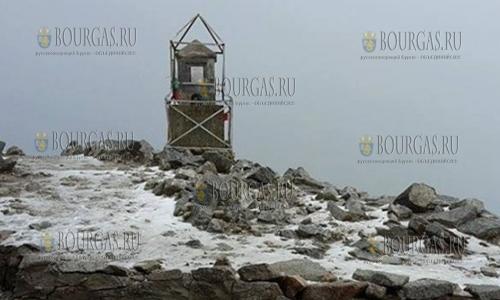 В горах Болгарии выпал первый снег