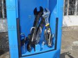 велосипедная мини СТО в Бургасе - антивандальный крепеж инструмента