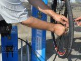 велосипедная мини СТО в Бургасе - насосный агрегат