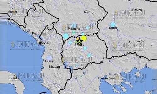 Землетрясение в Болгарии, сегодня трясло Софию