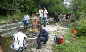 золото моют в Болгарии - озера Домлян, вблизи селения Карлово в Пловдивской области