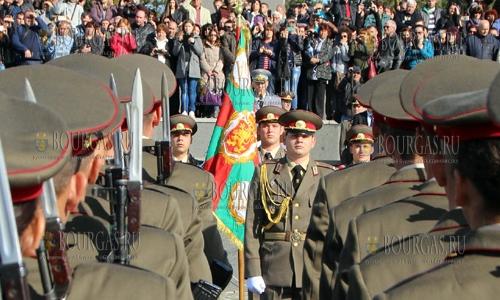 14 октября 2016 года, Велико-Тырново, курсанты Национального военного университете имени Васила Левского приняли присягу