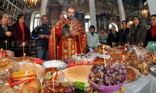 19 октября 2016 года, хасковское село Конуш, в местной церкви празднуют День святого Иоанна Рильского