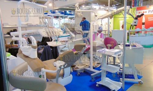 19 октября 2016 года, Пловдив, Международный ярмарочный центр, выставка медицинских изделий в стране - Медикус, Денто, Галения