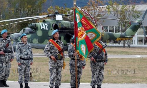 27 октября 2016 года, аэропорт Крумово, отметили 55 годовщину создания первой военной вертолетной части на территории Болгарии