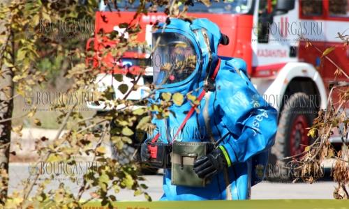 27 октября 2016 года, Казанлык, совместные антитеррористические учения, в которых поучаствовали полицейские, военнослужащие и пожарные