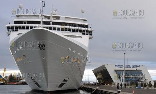 27 октября 2016 года, порт Бургаса, город покинуло лайнер - MSC Opera, последнее круизное судно в этом году с 2 251 пассажиром на борту, туристический сезон в Бургасе