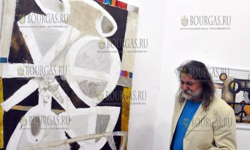6 октября 2016 года, Бургас, Художественная галерея Петко Задгорского, художник Красимир Зинин открыл свою выставку