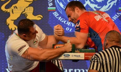 9 октября 2016 года, Благоевград, Красимир Костадинов чемпион мира по армреслингу