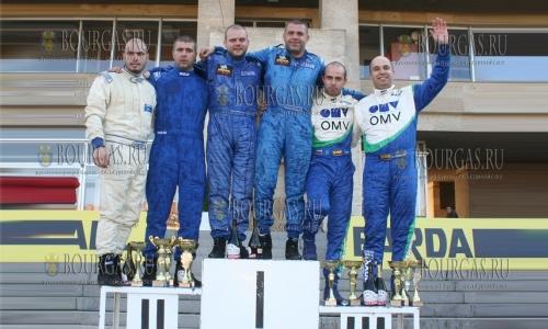 9 октября 2016 года, Шумен, победители 47-го ралли - Стари столици