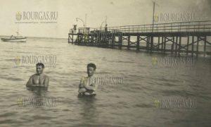 Рыбацкий мост в Варне в 30-е годы ХХ-го века