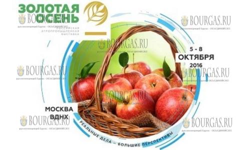Болгарских продуктов в РФ нет, но они были на выставке Золотая Осень 2016