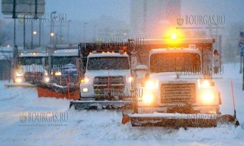 Дорожные службы Болгарии уже готовы к зиме