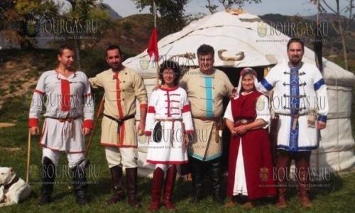 Крепость Туида в Болгарии приняла фестиваль Помни славата