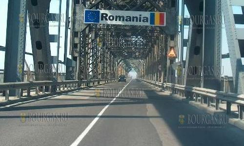 Мост через Дунай в районе Русе
