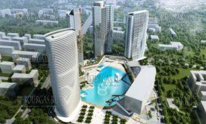 небоскребы Болгарии, небоскребы Софии, Град в града