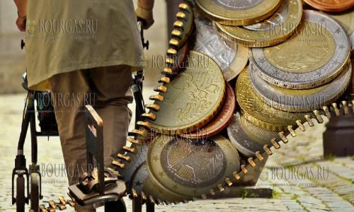 пенсионные расходы в Болгарии, болгар на Рождество