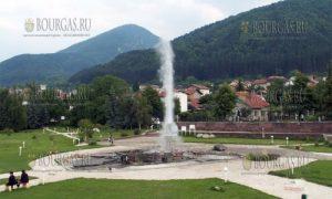 самый горячий источник в Болгарии - Сапарева баня, +102°С
