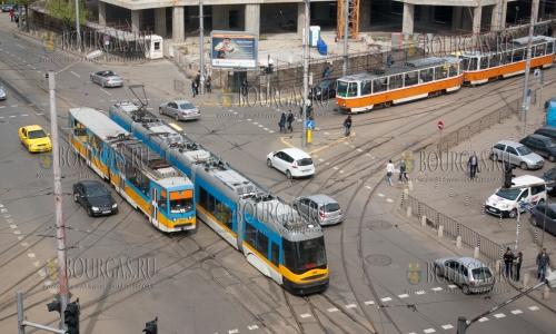 Трамвайный секонд-хенд на улицах Софии