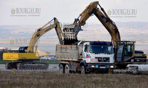 1 ноября 2016 года, Бургас, в аэропорту в Сарафово начались работы по реконструкции
