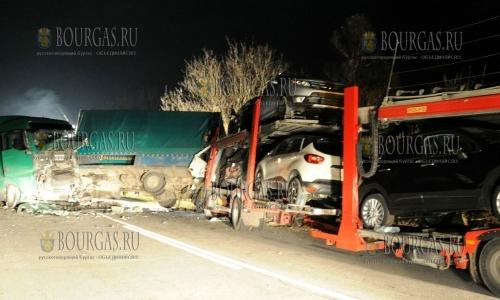11 ноября 2016 года, трасса Варна - София, произошло серьезное ДТП