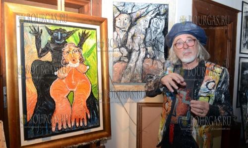 16 ноября 2016 года, Пловдив галерее Вызраждане, болгарский художник Ставри Калинов отметил 72-летие и открыл свою выставку - 72 года-72 чуда
