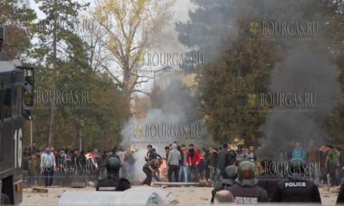 19 мигрантов будут крайними в связи с беспорядками в Харманли