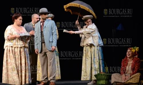 24 ноября, Варненский драматический театр имени Стояна Бычварова представил в Кырджали спектакль по пьессе Антона Страшимирова - Свекровь