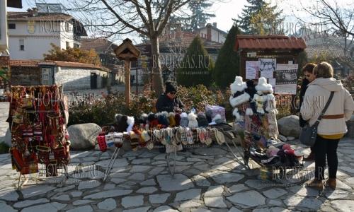 27 ноября, Банско, болгарский горнолыжный курорт готовится к сезону