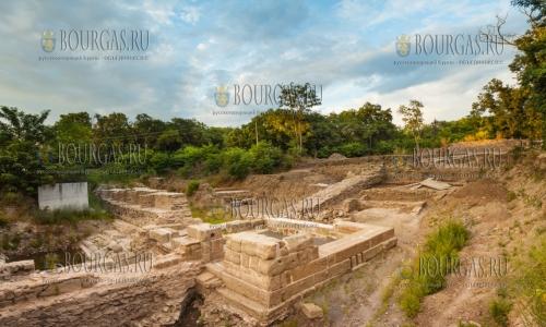 Акве Калиде археологические изыскания