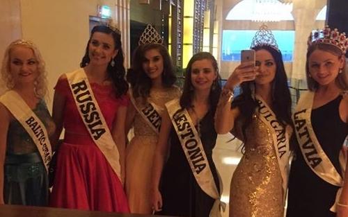 болгарка, Элизабет Методиева, на конкурсе Miss Top of the World 2016