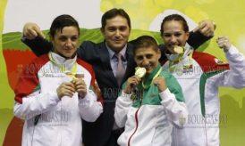 Болгарские женщины выиграли три золота